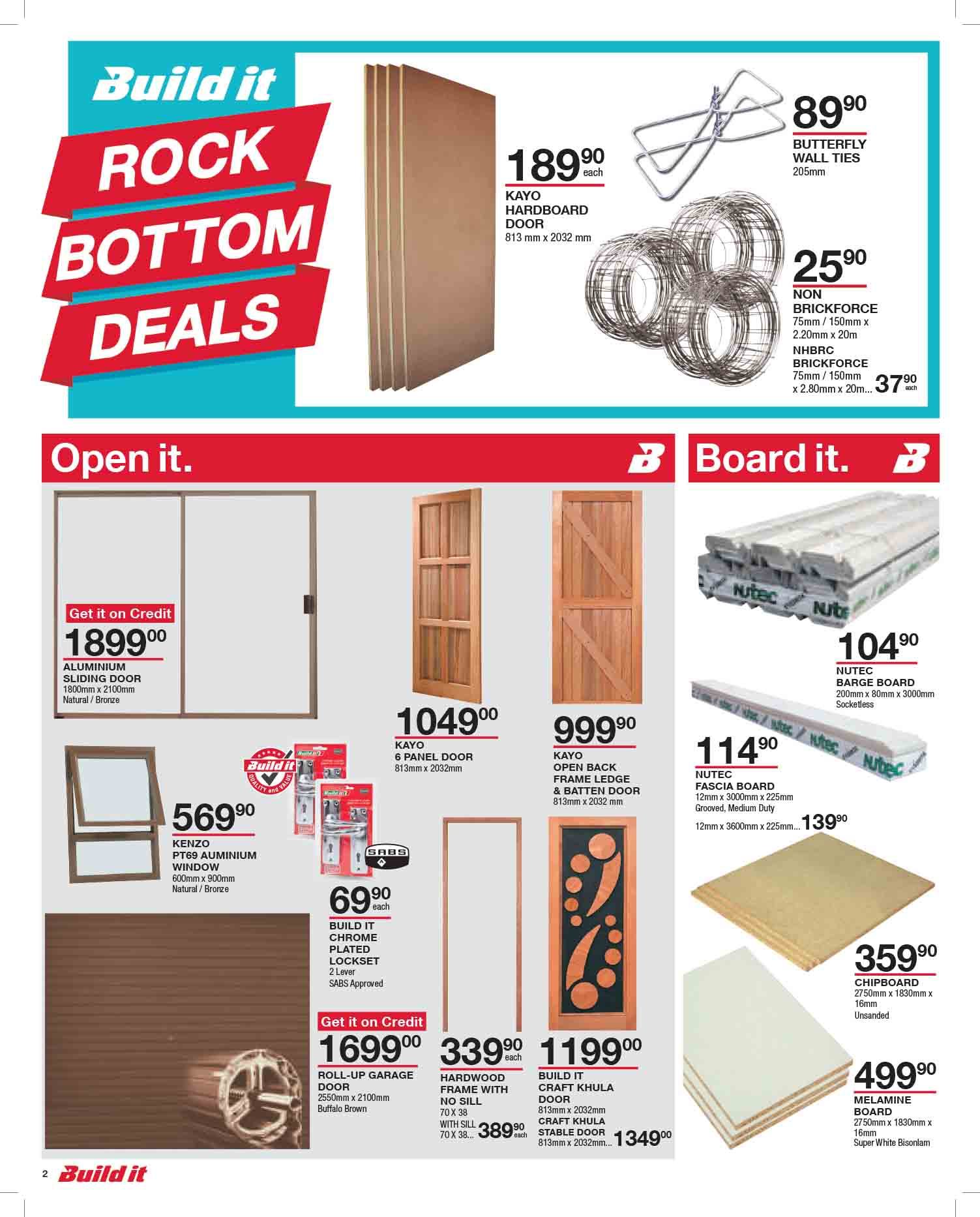 Boland Build It Making Home Building Simple Specials